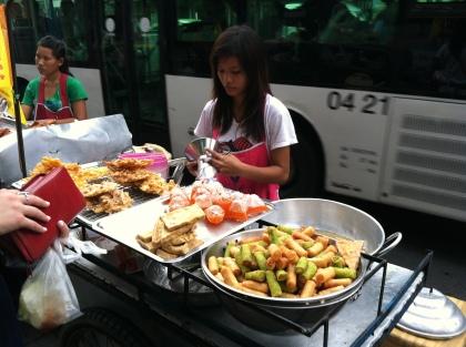 Street Vendor - Bangkok, Thailand