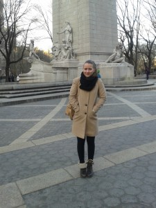 Dita in Central Park