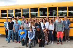 Ota and his tennis team, beforedeparting for the state meet back in October